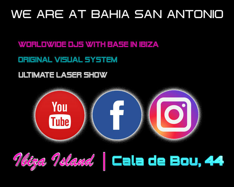 we are at bahia san antonio